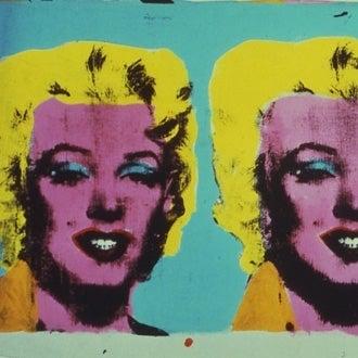 An Andy Warhol print