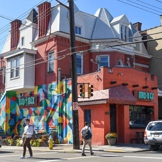 Mad Mex restaurant in Oakland